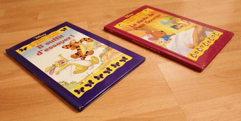 DISNEY. 2 livres Winnie l'ourson. Disney. Très bon état Jeux / jouets