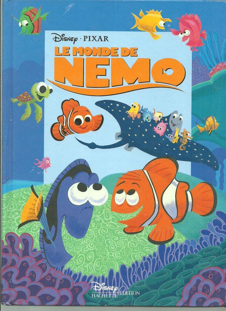 DISNEY PIXAR Le monde de NEMO, HACHETTE Edition en 2003 4 Montauban (82)