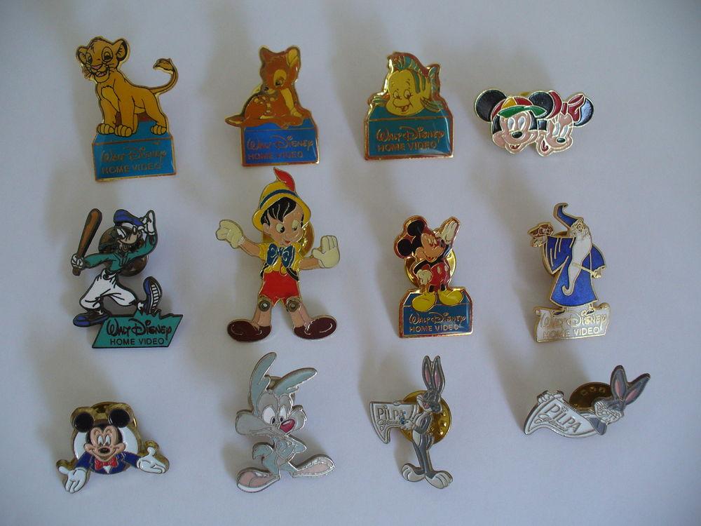Lot de 12 pin's Disney / Warner 10 Conflans-Sainte-Honorine (78)