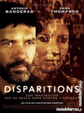 Dvd: Disparitions (78) DVD et blu-ray