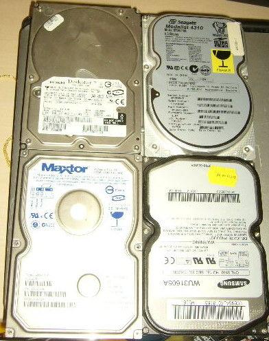 disque dur PC ATA/IDE 1,62Gb Samsung WU31605A 6 Versailles (78)