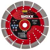 Disque Diamant Béton Shoxx x17 Samedia ⌀ 230mm x 22,23mm   100 Lens (62)