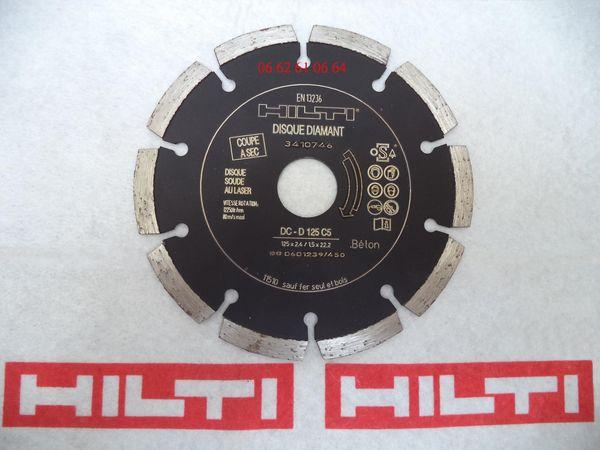 Disque diamant HILTI II 50 Cagnes-sur-Mer (06)