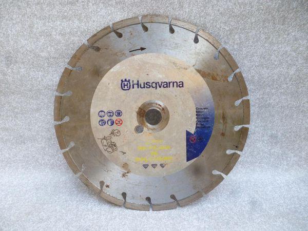 Disque diamant Husqvarna 300 mm Bricolage