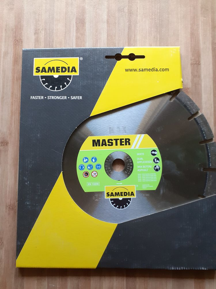Disque Diamant MIXTE 300 mm X 20.0 mm SAMEDIA Master MAX SHOOX 100 Lens (62)