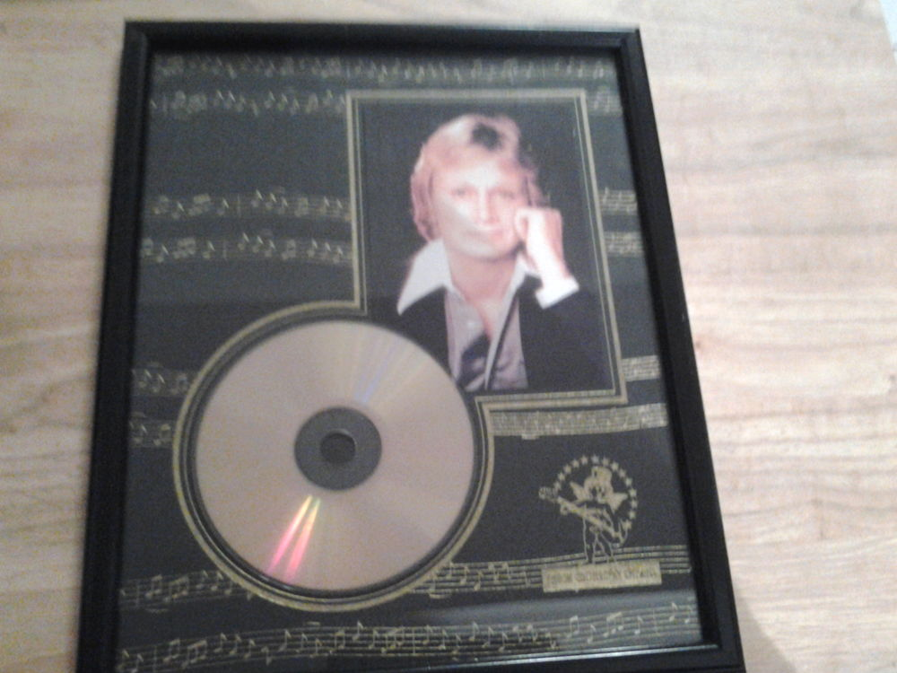 Disque d or the gold, n star de Claude François 180 Trélivan (22)