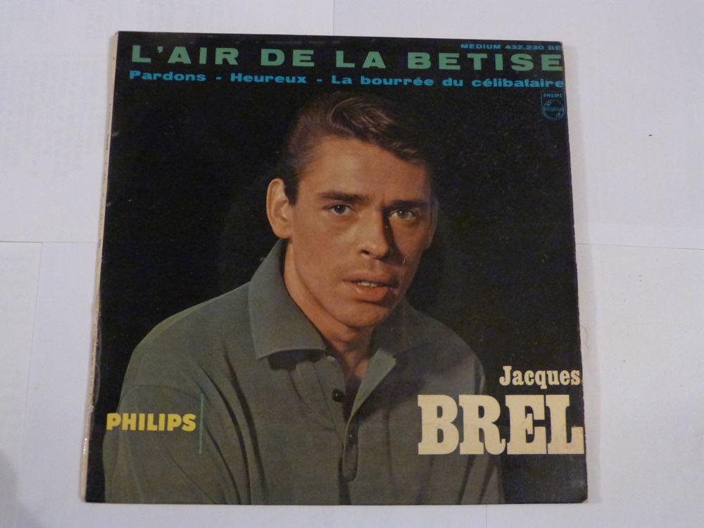 DISQUE JACQUES BREL N° 432230 4 Brest (29)