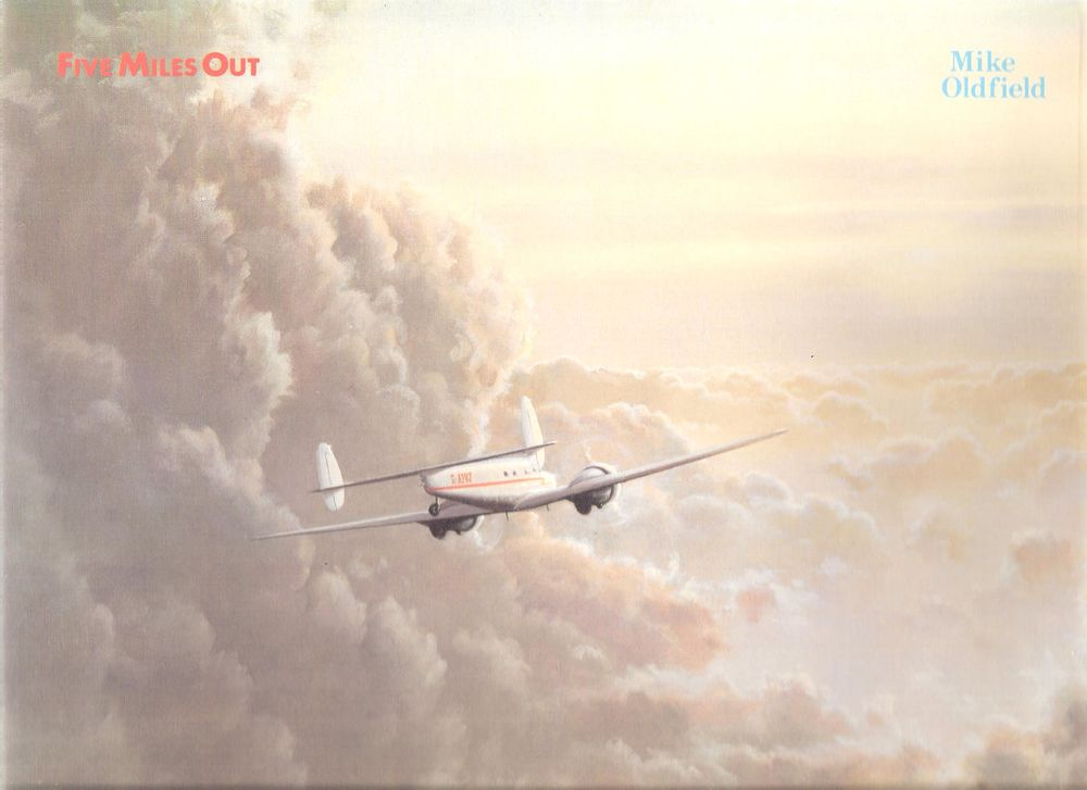 Disque de Mike Oldfield  Five Miles out 8 Comines (59)