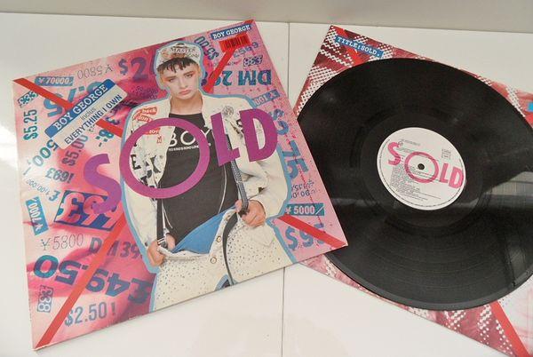 DISQUE PLATINE VINYLE VINTAGE HIFI BOY GEORGE  SOLD  33 rpm 17 Marseille 11 (13)