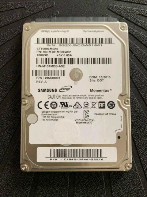 Disque dur 2,5 pouces 1000GB (reel 931GB) Samsung 39 Versailles (78)