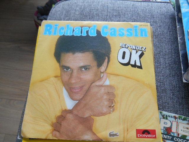 DISQUE 45T RICHARD CASSIN TITRE REPONDEZ OK 3 La Rochelle (17)