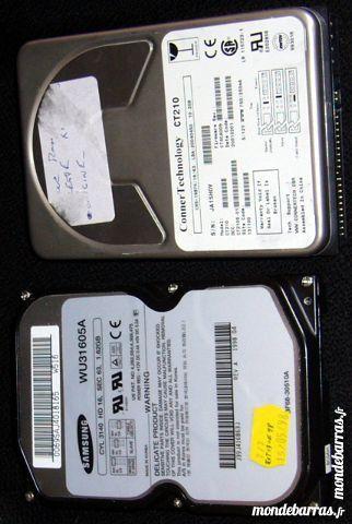 Disque dur ATA/IDE Samsung 1,62GB pc bureau    10 Versailles (78)