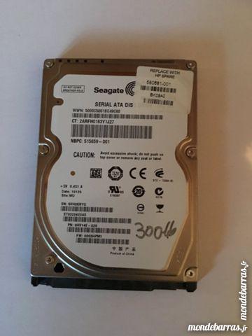 disque dur sata Hitachi 320Go à réparer Matériel informatique