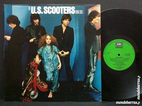 Disque 33 T. US Scooters « Young girls » 7 Comines (59)