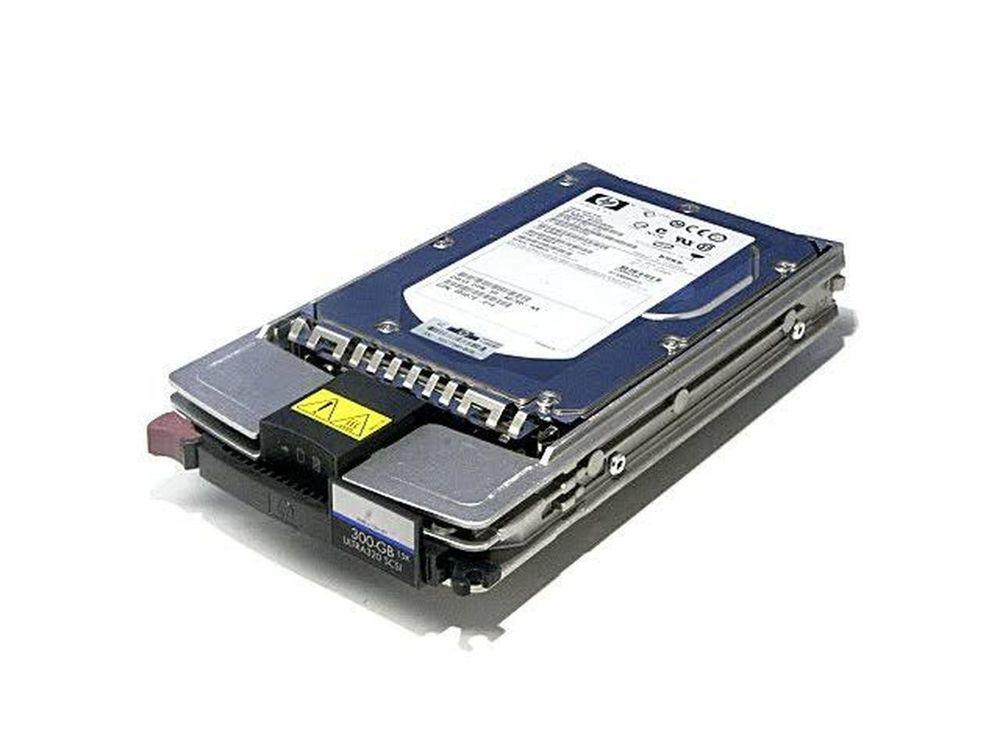 DISQUE SERVEUR HP 300G SCSI 15K +CADDY NEUF Matériel informatique