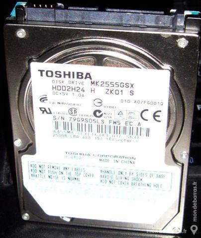 Disque dur Toshiba 250Gb pc portable 38 Versailles (78)