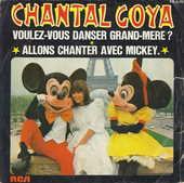 Disque 45 Tours Chantal Goya-Voulez-vous danser grand-mère 5 Aubin (12)