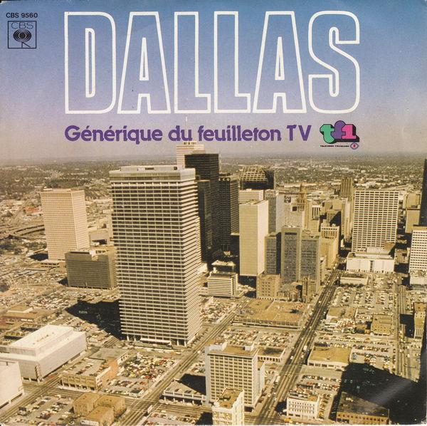 Disque 45 tours Dallas, Générique du feuilleton TV CD et vinyles