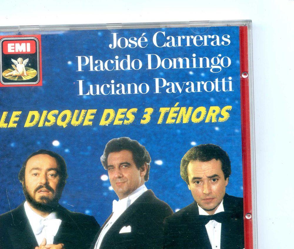 Le disque des trois ténors,  3 Rennes (35)
