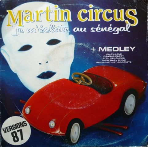 Disque vinyle car cover jouet - MARTIN CIRCUS 2 Paris 13 (75)