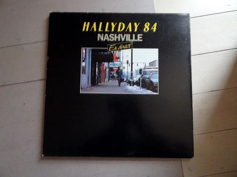 Disque vinyle Johnny Hallyday Nashville 84 15 Voray-sur-l'Ognon (70)