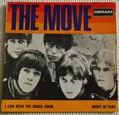DISQUE VINYLE 45 T.  THE MOVE   I CAN HEAR THE GRASS GROW   30 Yvetot (76)
