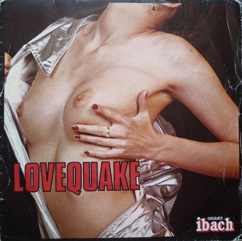 Disque vinyle pochette érotique - LOVEQUAKE CD et vinyles