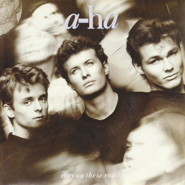 Disque vinyle 45 tours A-ha - Stay on these roads 5 Aubin (12)