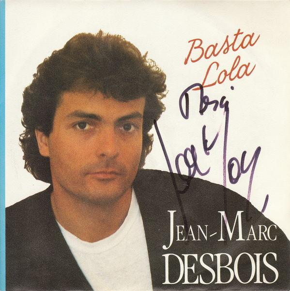 Disque vinyle 45 tours Jean-Marc Desbois - Basta Lola 5 Aubin (12)