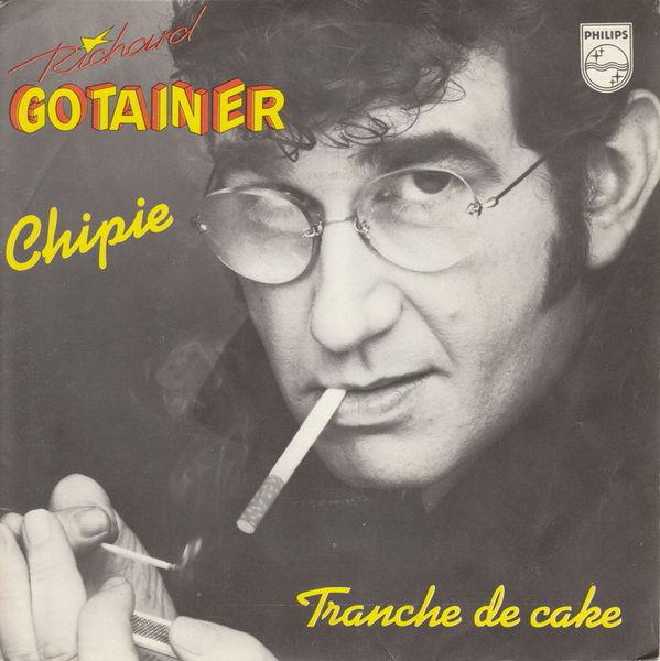 Disque vinyle 45 tours Richard Gotainer - Chipie 5 Aubin (12)