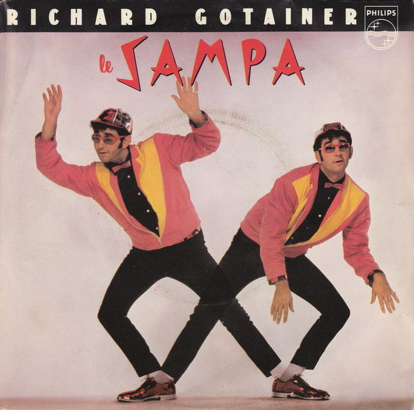 Disque vinyle 45 tours Richard Gotainer - Le Sampa CD et vinyles