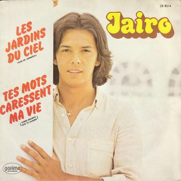 Disque vinyle 45 tours Jairo - Les jardins du ciel 5 Aubin (12)