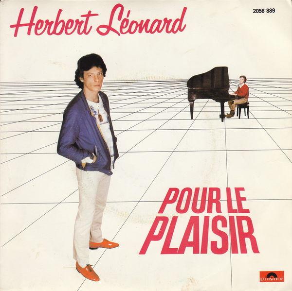 Disque vinyle 45 tours Herbert Léonard - Pour le plaisir 5 Aubin (12)