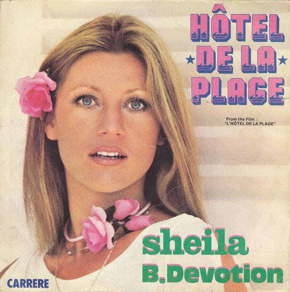 Disque vinyle 45 tours Sheila B. Devotion- Hôtel de la plage 5 Aubin (12)
