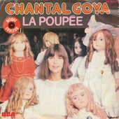 Disque vinyle 45 tours Chantal Goya - La poupée 5 Aubin (12)