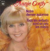 Disque vinyle 45 tours Annie Cordy - Notre dernier automne 5 Aubin (12)