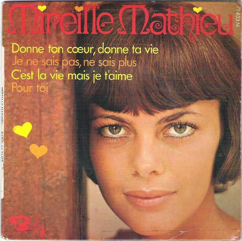 Disque vinyle 45 tours Mireille Mathieu 4 Balma (31)