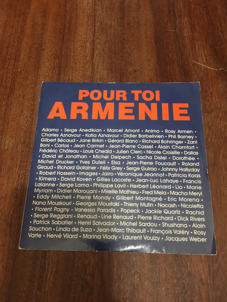 Disque vinyle 45 tours ´´ Pour toi Arménie ´´ 2 Saleilles (66)