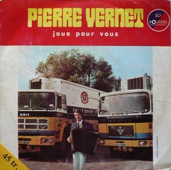 Disque vinyle truck cover UNIC SAVIEM - Pierre VERNET 2 Paris 13 (75)