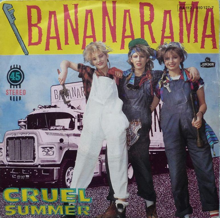 Disque vinyle truck cover MACK  BANANARAMA 4 Paris 13 (75)