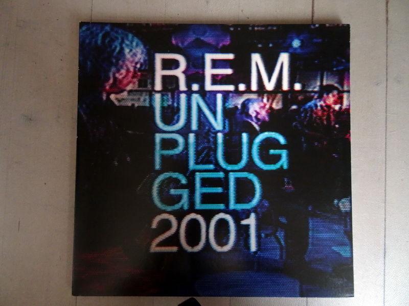 Disque vinyle REM Unplugged 20 Voray-sur-l'Ognon (70)