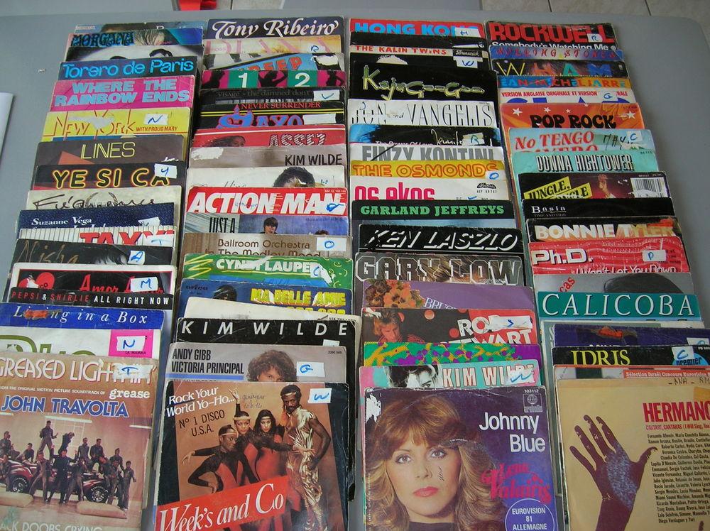 81 disques accordéon+425 disques variétés française étrangèr 325 Reims (51)