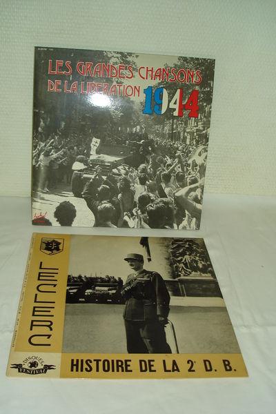 lot de 3 disques / album 33  histoire  0 Espaly-Saint-Marcel (43)