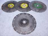 4 disques diamant segmentés 100 Cagnes-sur-Mer (06)