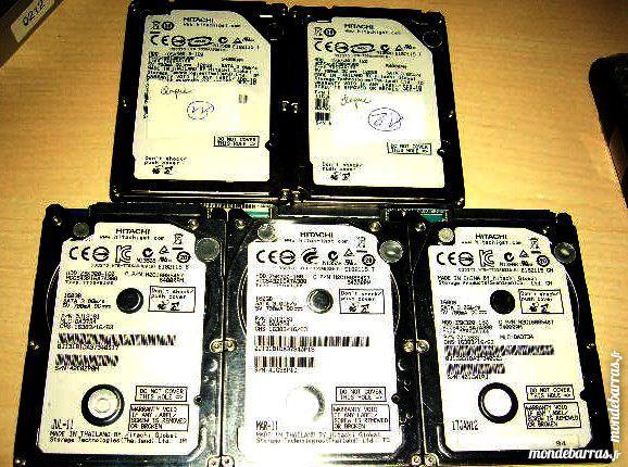 5 disques durs Hitachi SATA 120 et 160Gb à réparer 10 Versailles (78)