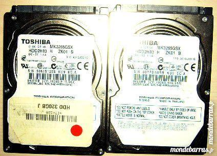 2 disques durs sata Toshiba 320Gb à reparer 20 Versailles (78)