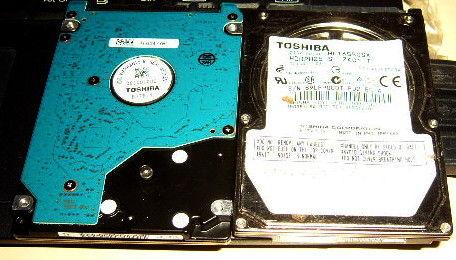 2 disques durs sata 640 et 160Gb à réparer 19 Versailles (78)