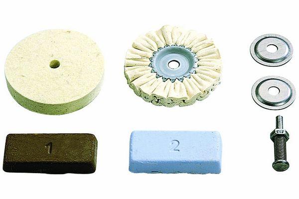 2 disques feutre de polissage + 2 pate a polir º Kit de pol 20 Marseille 13 (13)