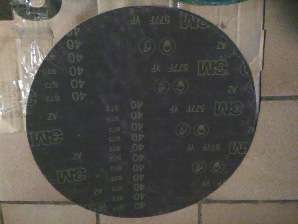 Lot disques de ponçage 3M 6 Assas (34)