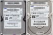 Lot de 6 disques dur hs sata ide hdd